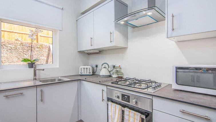 Kitchen at Priory Road Apartment - Citybase Apartments