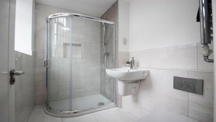 Bathroom at Priory Road Apartment - Citybase Apartments