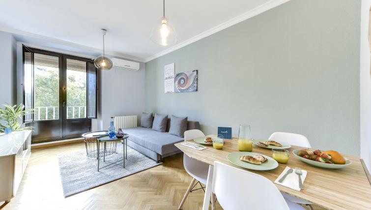 Living room at the Tirso de Molina Apartment - Citybase Apartments
