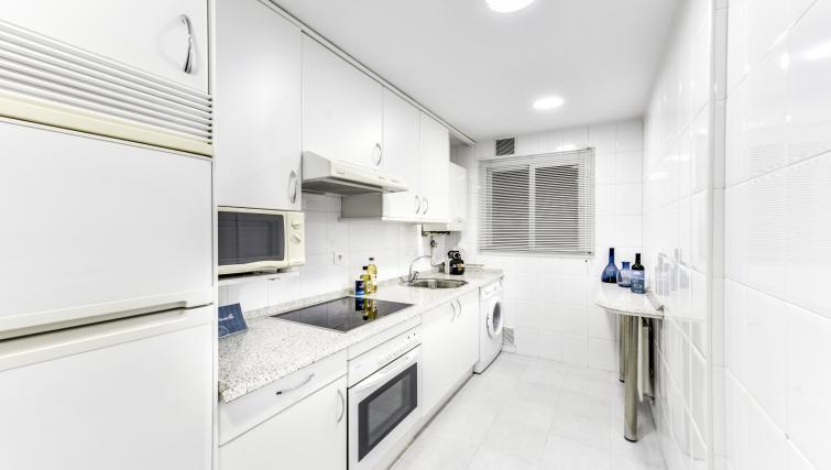 Kitchen at the Tirso de Molina Apartment - Citybase Apartments