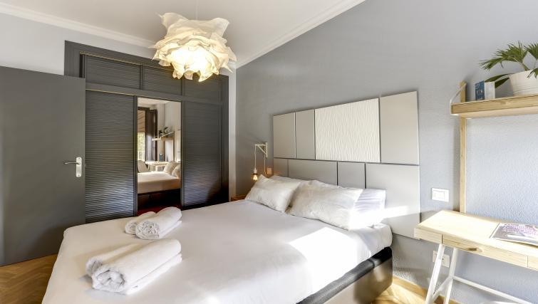Bedroom at the Tirso de Molina Apartment - Citybase Apartments