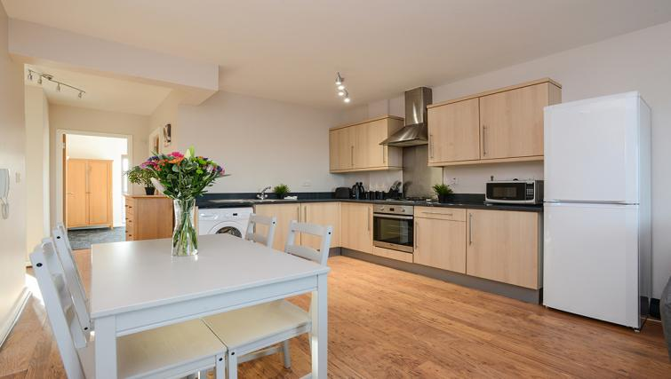 Kitchen at the Portland Square Apartment - Citybase Apartments