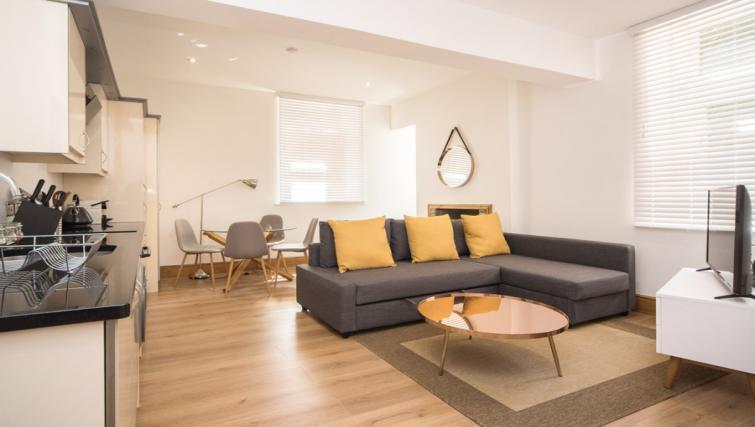 Lounge area at the Marlborough Hall Apartment - Citybase Apartments