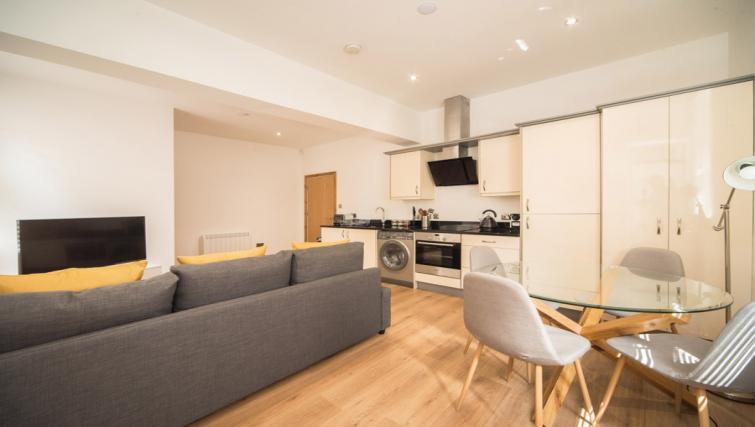 Kitchen space at the Marlborough Hall Apartment - Citybase Apartments