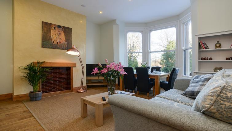 Lounge at the Marlborough Hall Apartment - Citybase Apartments