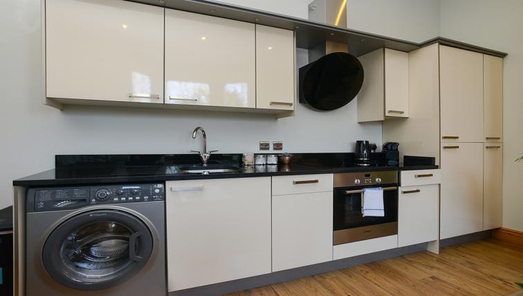 Kitchen at the Marlborough Hall Apartment - Citybase Apartments