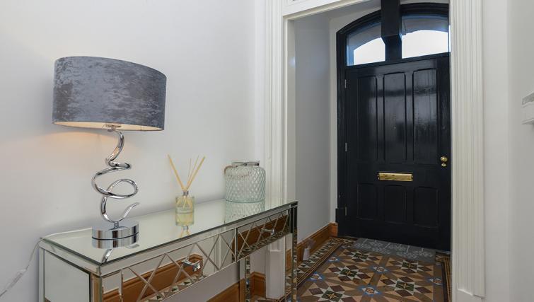 Corridor at the Marlborough Hall Apartment - Citybase Apartments