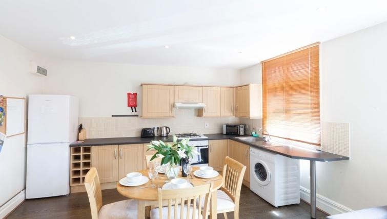 Kitchen at Victorian Towers Apartment - Citybase Apartments
