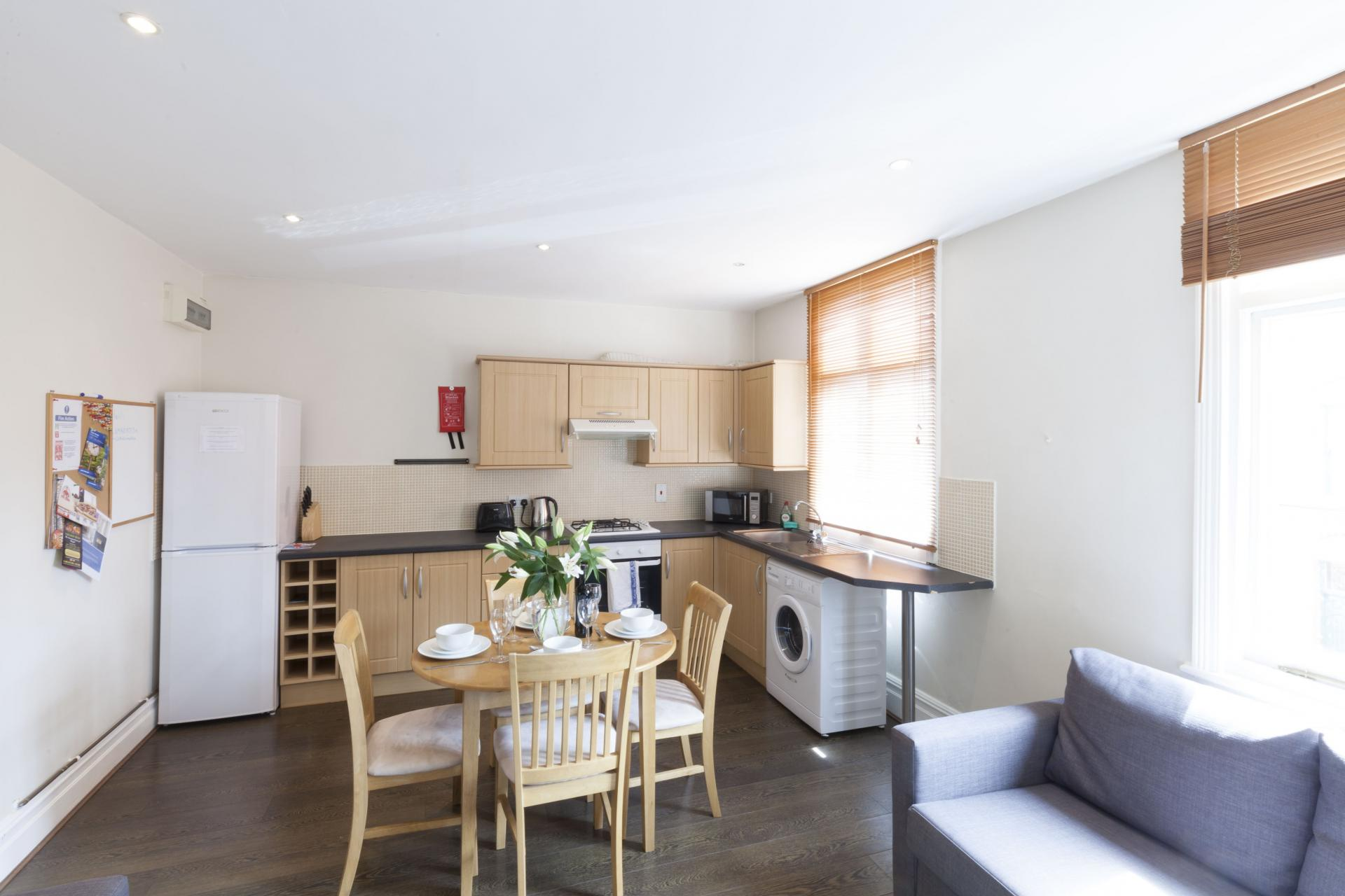 Dining area at Victorian Towers Apartment, Centre, Leicester - Citybase Apartments
