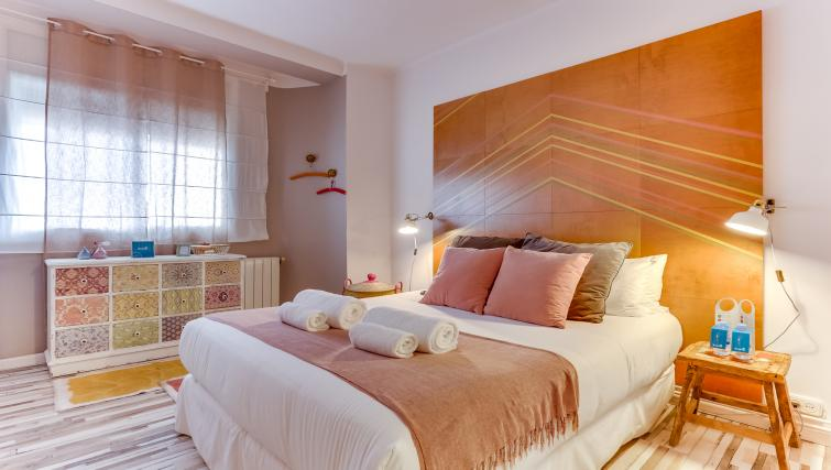 Bedroom at the Saint Gervasi Vacation Apartment - Citybase Apartments