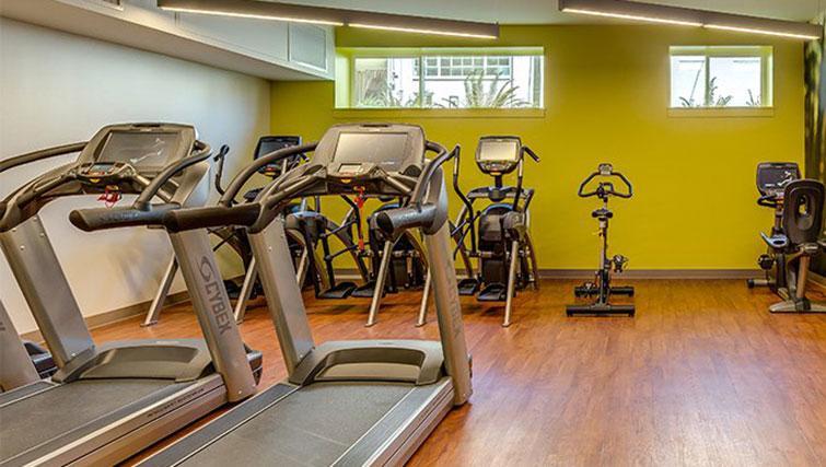 Gym at Juxt Apartments - Citybase Apartments