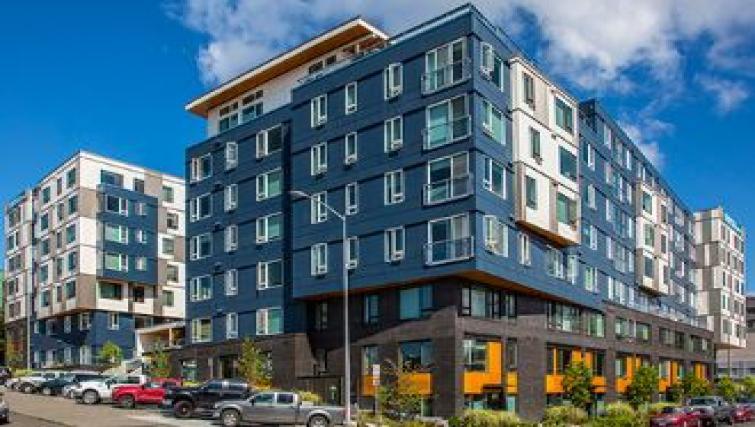Exterior of Juxt Apartments - Citybase Apartments