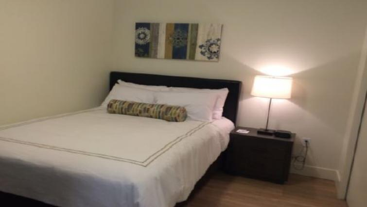Bedroom at Juxt Apartments - Citybase Apartments