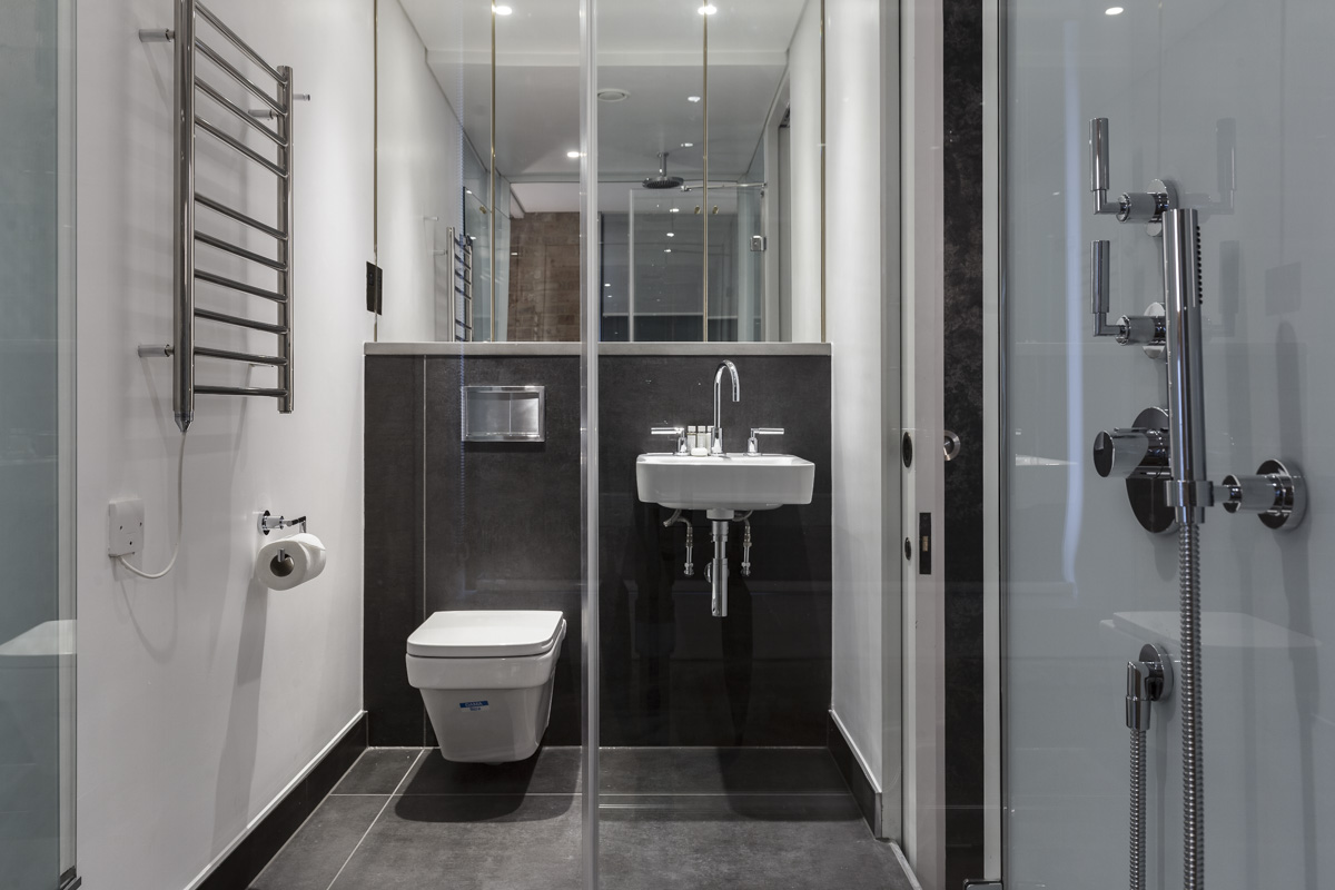WC at Soho Lofts by Q Apartments, Soho, London - Citybase Apartments