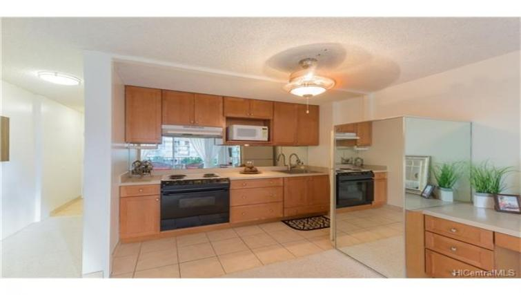 Kitchen at Fairway Villa Condo - Citybase Apartments