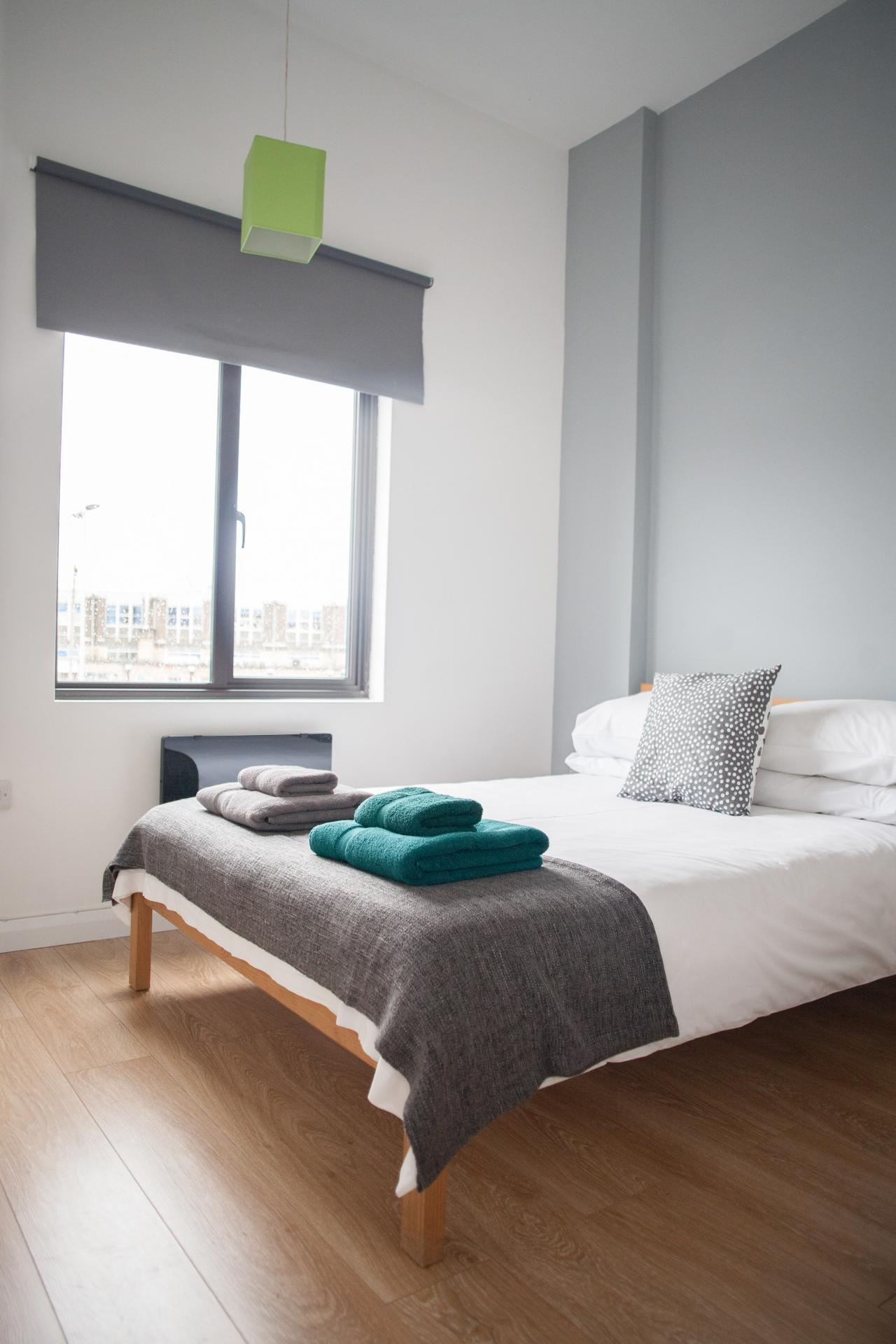 Bedroom at Quire Court Apartments, Centre, Gloucester - Citybase Apartments
