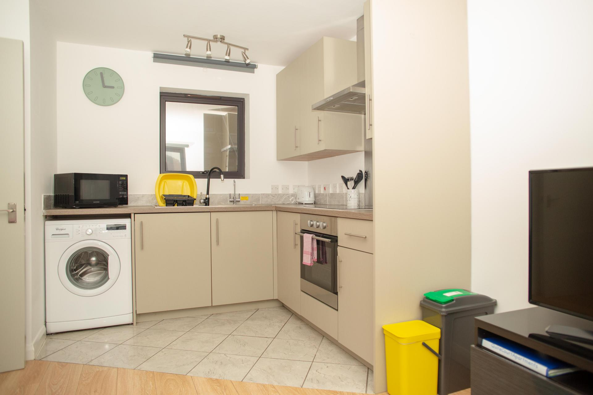 Laundry at Quire Court Apartments, Centre, Gloucester - Citybase Apartments