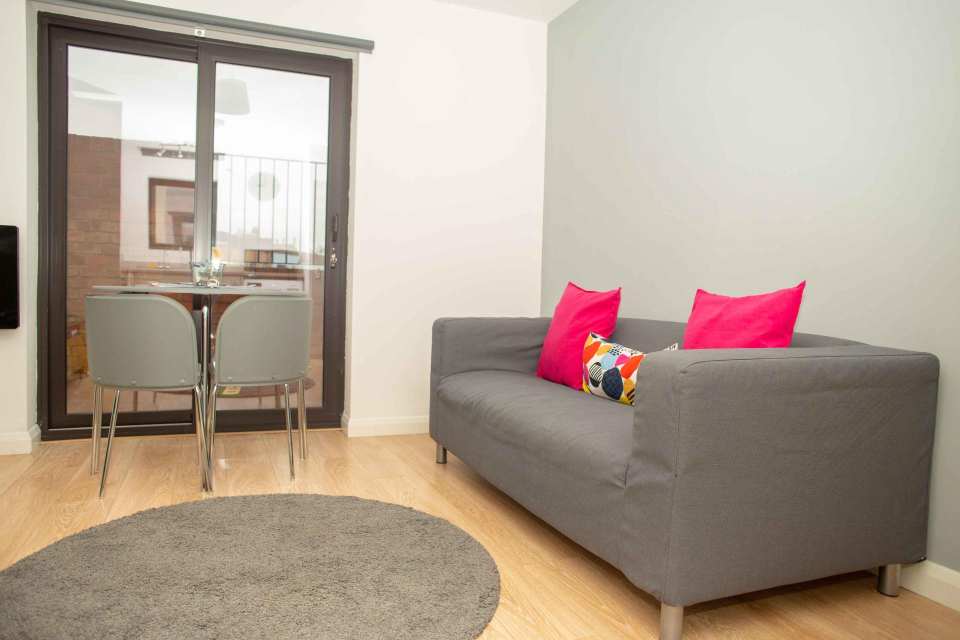 Sofa at Quire Court Apartments, Centre, Gloucester - Citybase Apartments