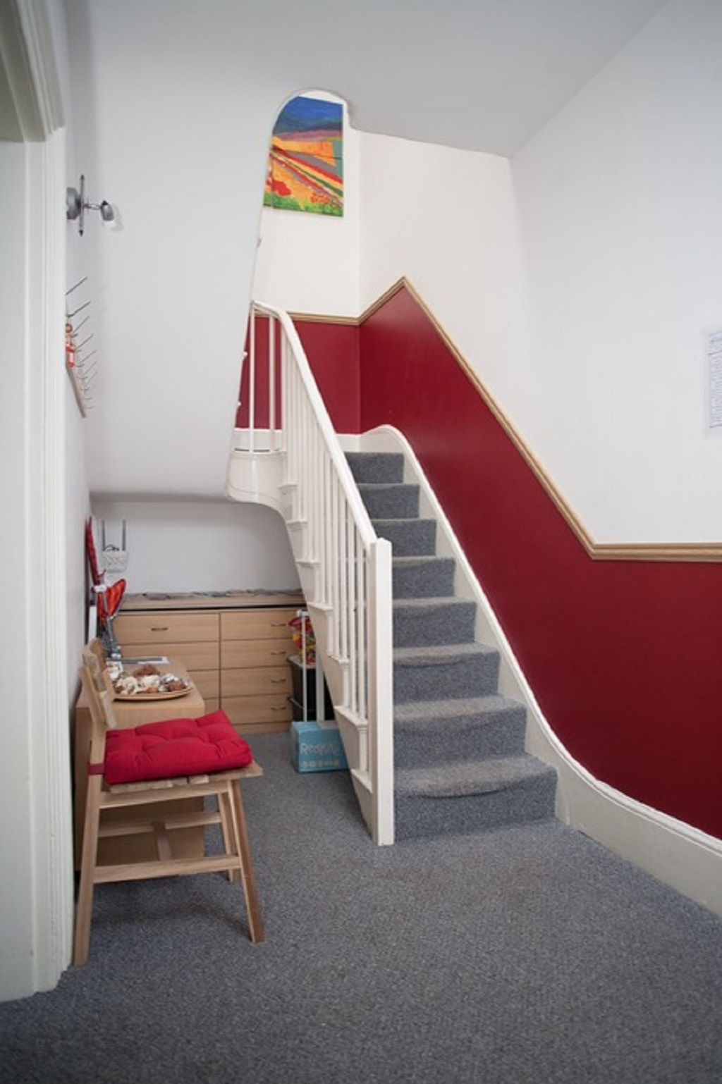 Stairs at Quire Court Apartment, Centre, Gloucester - Citybase Apartments