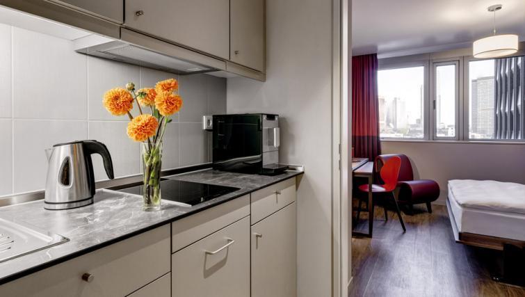 Kitchen at Adagio Frankfurt City Messe Apartments - Citybase Apartments
