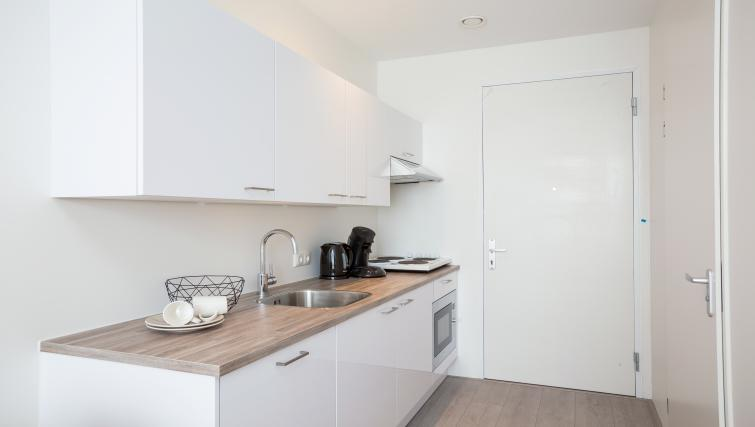 Kitchen at Hotel2Stay Amsterdam Apartments - Citybase Apartments