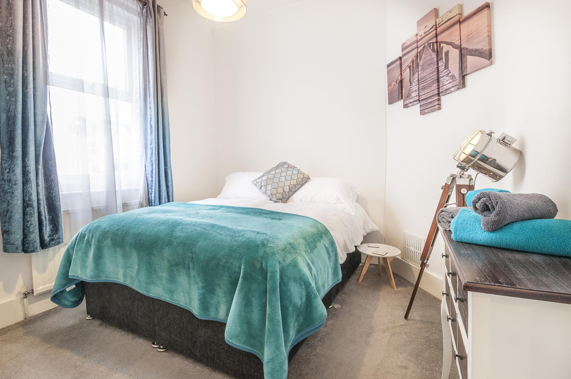 Bedroom at Kimberley Road Apartment - Citybase Apartments