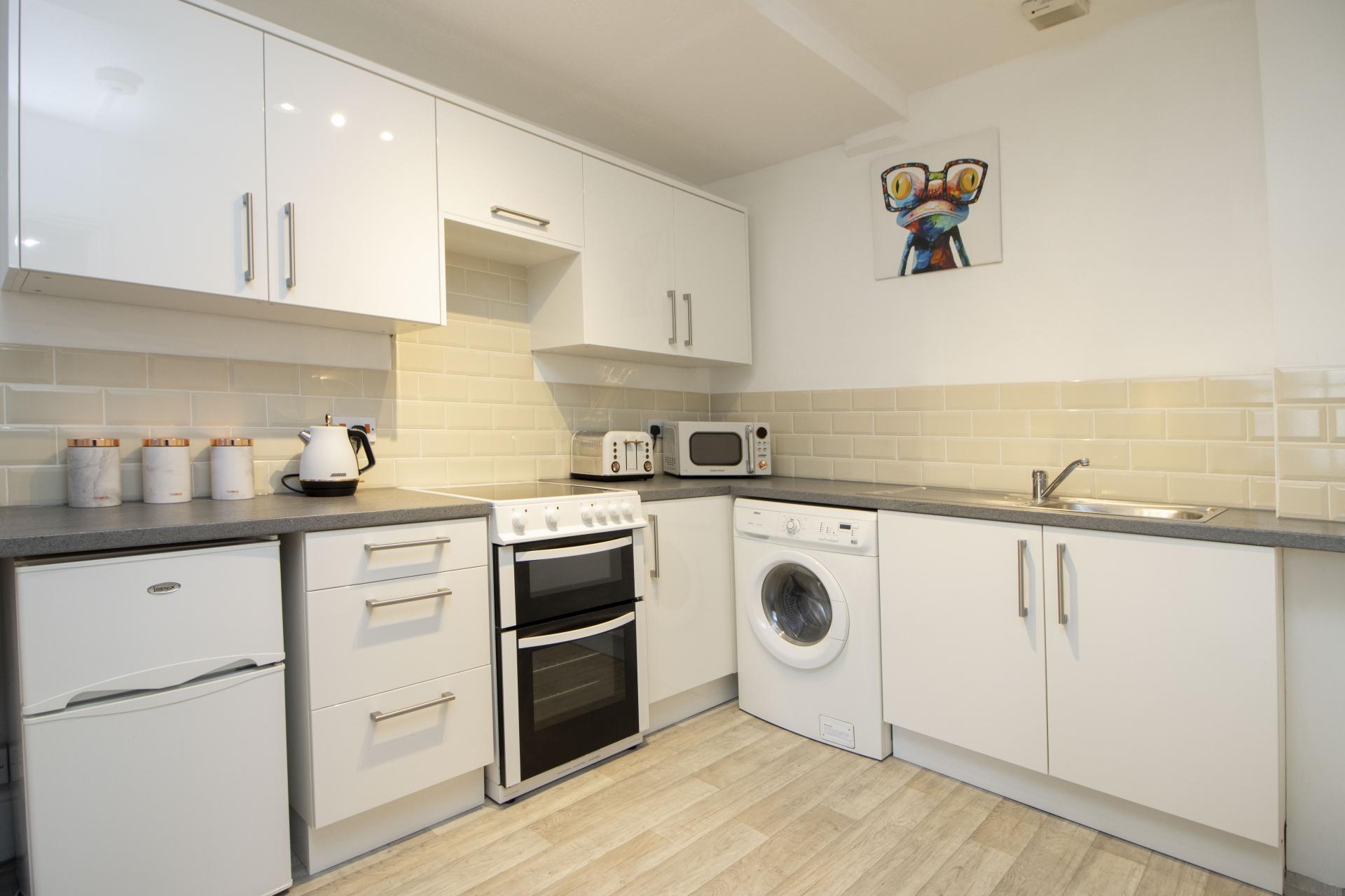 Kitchen at Kimberley Road Apartment - Citybase Apartments