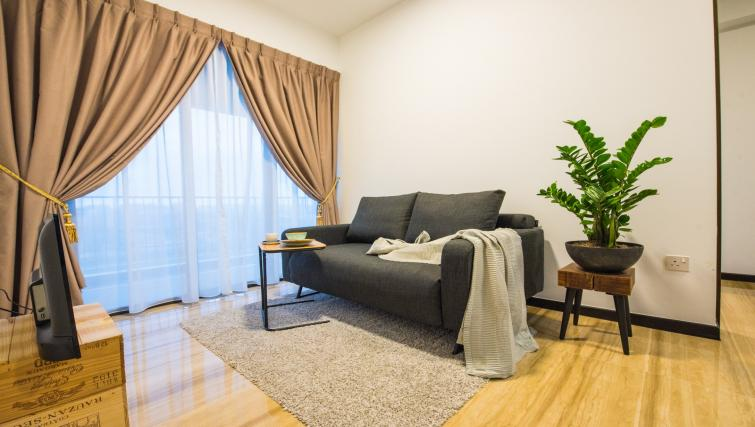 Living room at the Aljunied Apartments, Singapore - Citybase Apartments