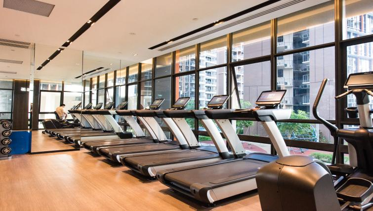 Gym at the Aljunied Apartments, Singapore - Citybase Apartments