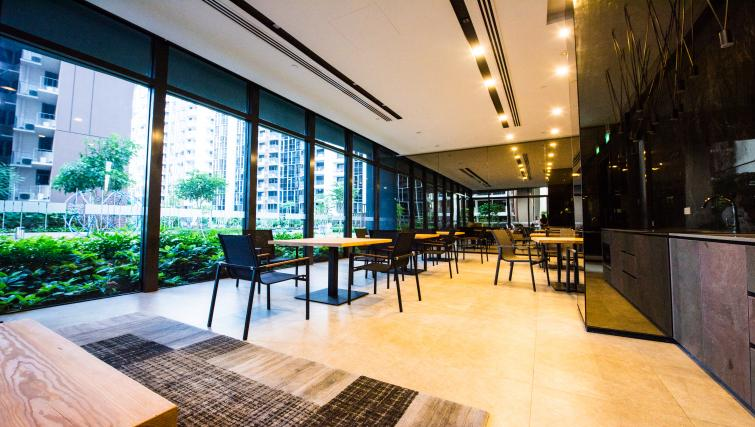 Lobby at the Aljunied Apartments, Singapore - Citybase Apartments