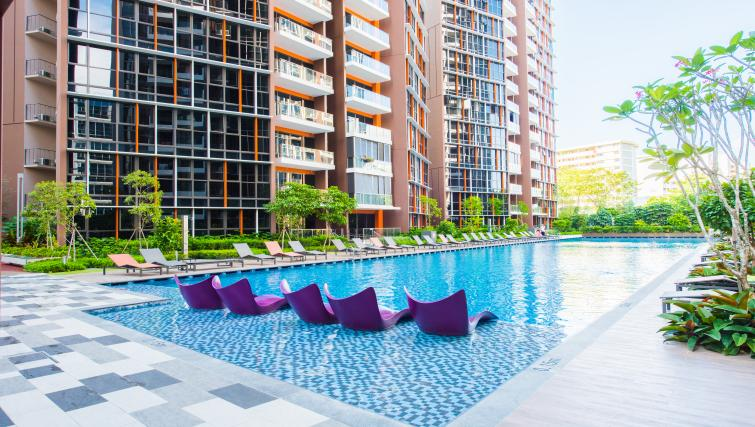 Pool at the Aljunied Apartments, Singapore - Citybase Apartments