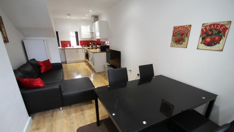 Sleek decor at The Hyde Apartment - Citybase Apartments