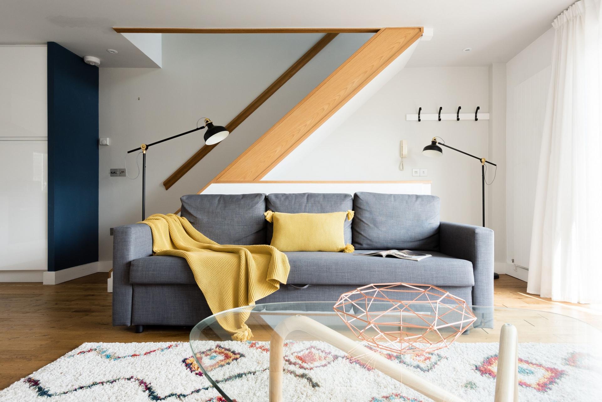 Sofa at The Press House - Citybase Apartments