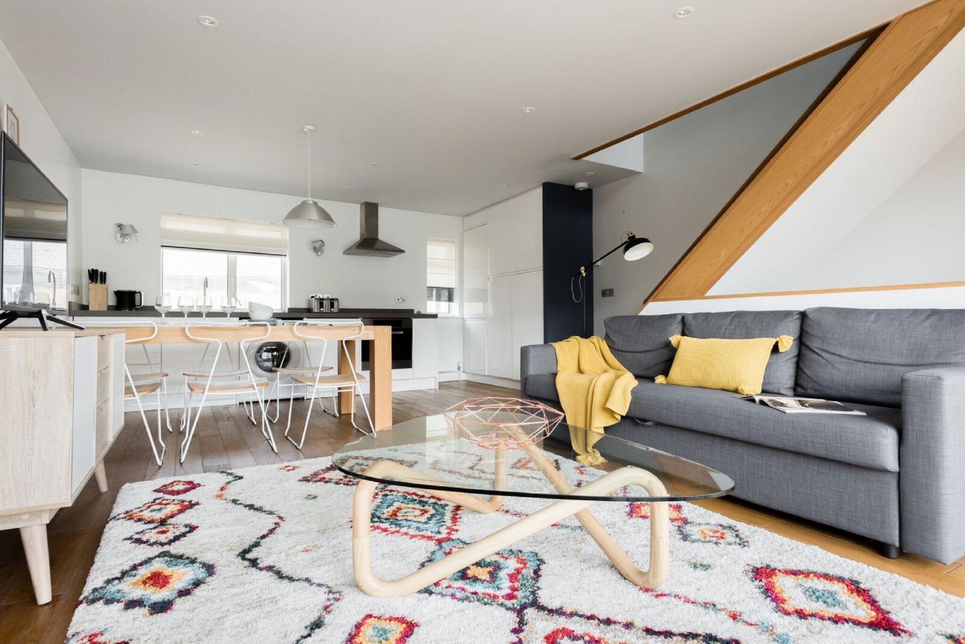 Stylish lounge at The Press House - Citybase Apartments
