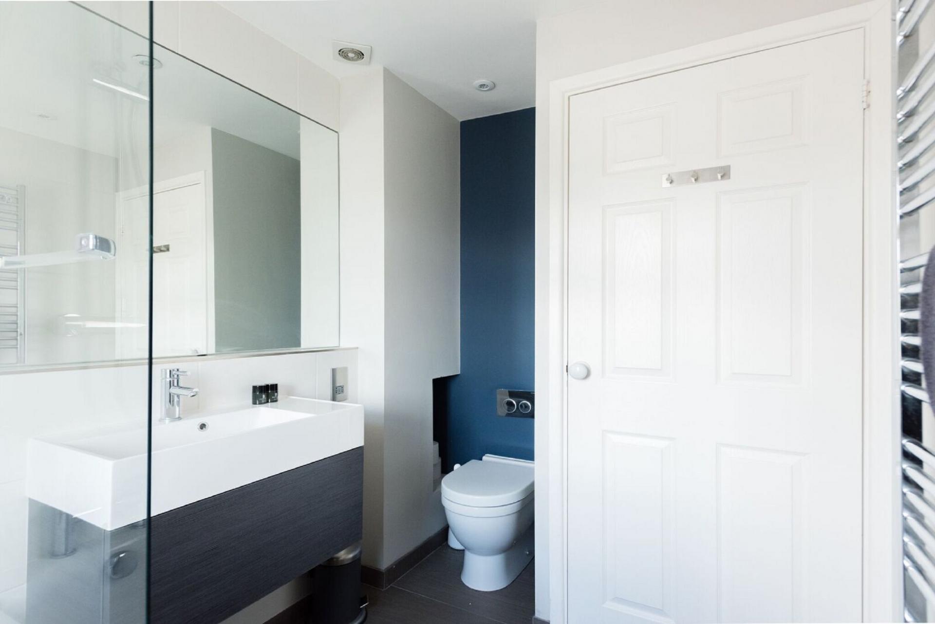 Modern bathroom at The Press House - Citybase Apartments