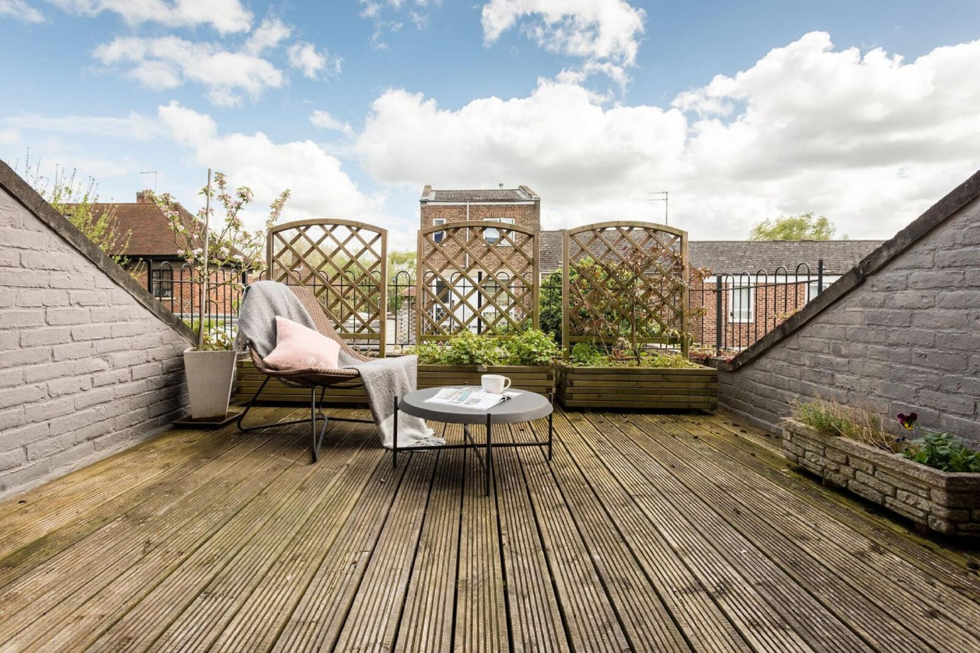 Roof terrace at The Press House - Citybase Apartments