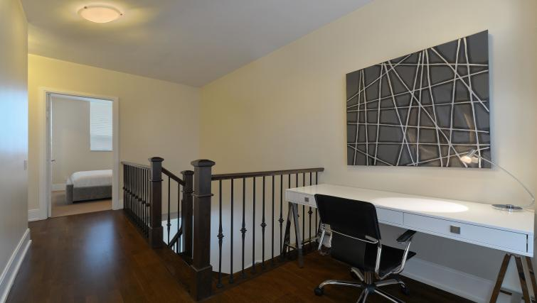 Desk area at Parc Nuvo Apartments - Citybase Apartments