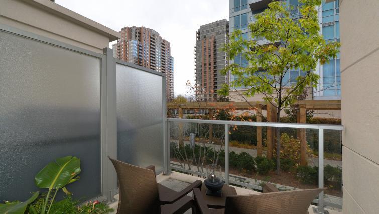 Balcony at Parc Nuvo Apartments - Citybase Apartments