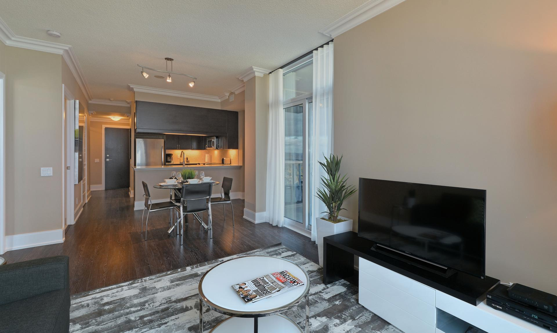 TV at  Parc Nuvo Apartments - Citybase Apartments