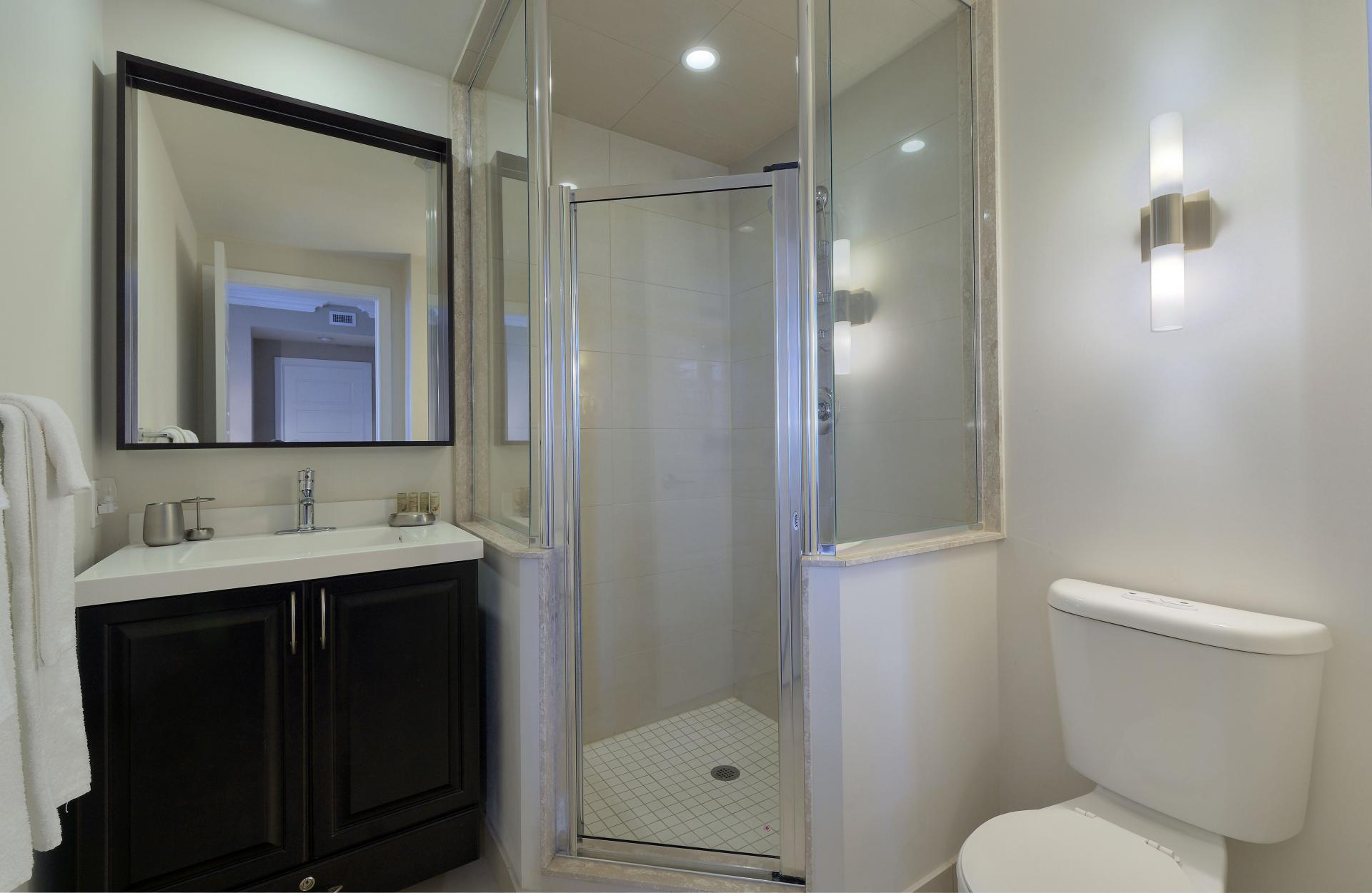 Shower at  Parc Nuvo Apartments - Citybase Apartments