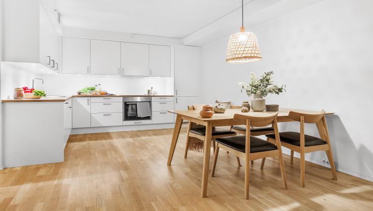 Open-plan at Damsgård Apartments - Citybase Apartments