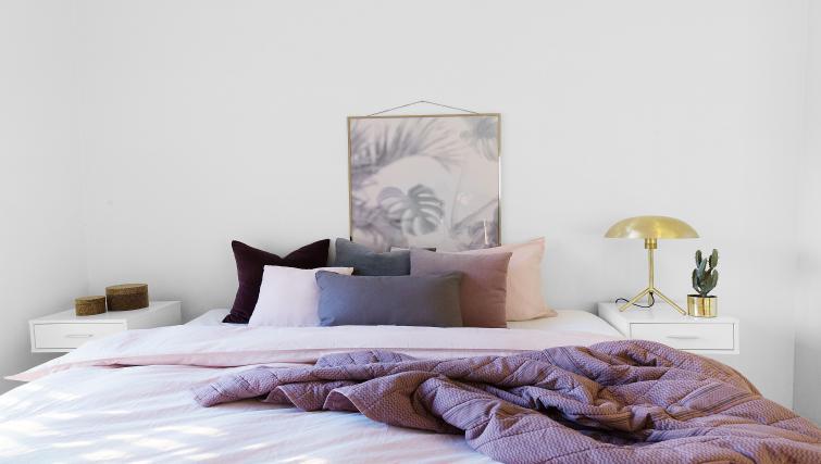 Bedding at Damsgård Apartments - Citybase Apartments