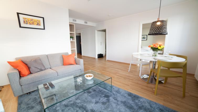 Living room at Damsgård Apartments - Citybase Apartments
