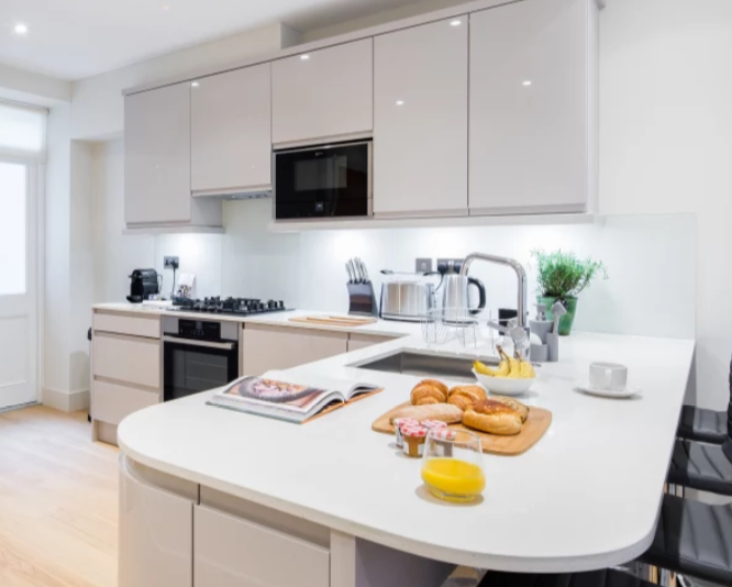 Kitchen at Fitzrovia Apartments - Citybase Apartments