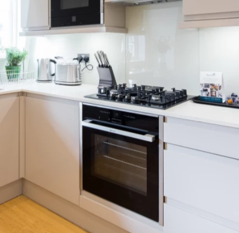 Oven at Fitzrovia Apartments - Citybase Apartments