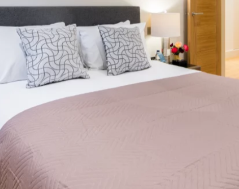 Stylish bedding at Fitzrovia Apartments - Citybase Apartments