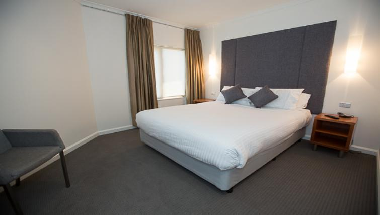 Bedroom at Quay West Apartment - Citybase Apartments