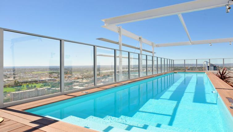 Swimming pool at Astra Elevation Apartments - Citybase Apartments