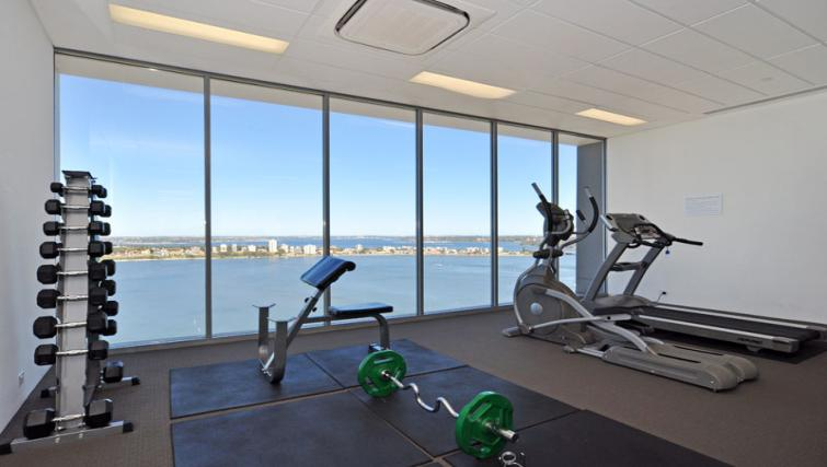 Gym at Astra Elevation Apartments - Citybase Apartments