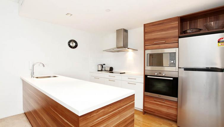 Modern kitchen at Astra Elevation Apartments - Citybase Apartments